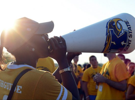 Kent State Golden Flashes fans