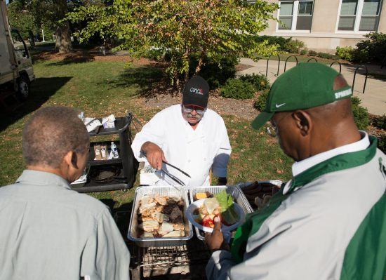 MSU Spartans tailgate food