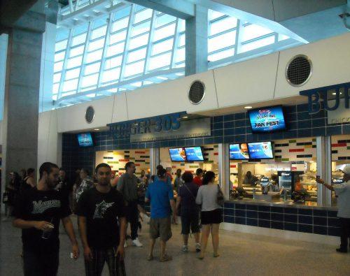 Miami Marlins FanFest Burger 305
