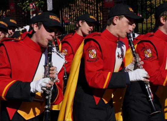 Maryland Terrapins band