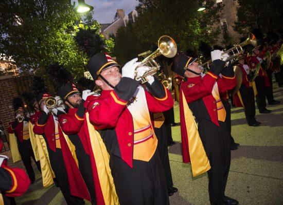 Maryland Terrapins marching band