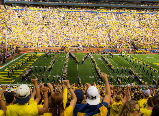Michigan Wolverines marching band