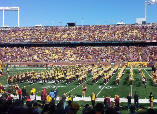 Minnesota Gophers band