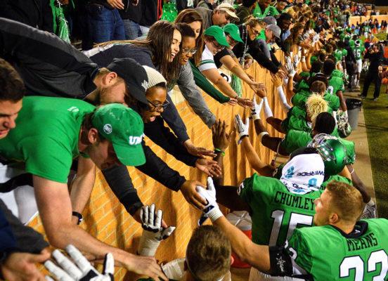 North Texas Mean Green football game