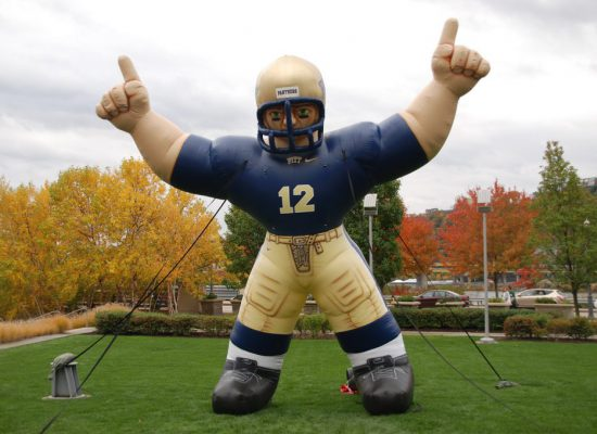 Pitt Panthers inflatable football player
