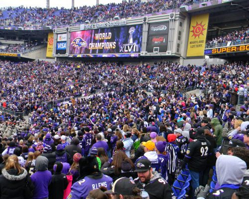 M&T Bank Stadium Baltimore Ravens fans