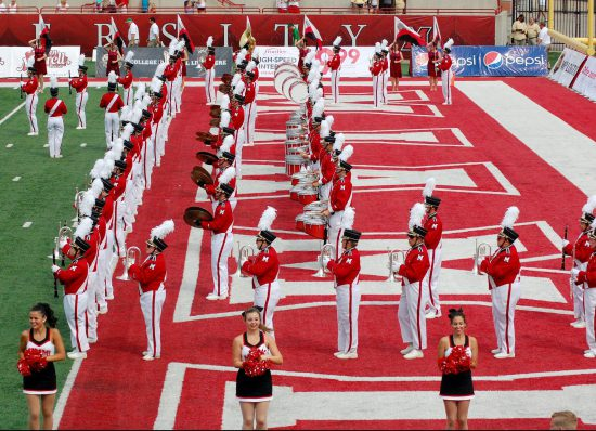 Miami RedHawks marching band