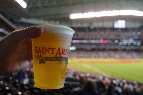 Saint Arnold Beer Garden Astros