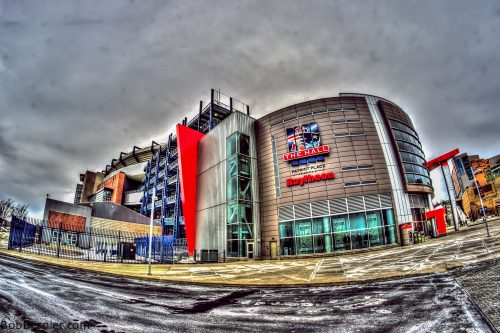 The Hall at Patriot Place museum Gillette Stadium