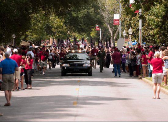 Troy Trojans parade
