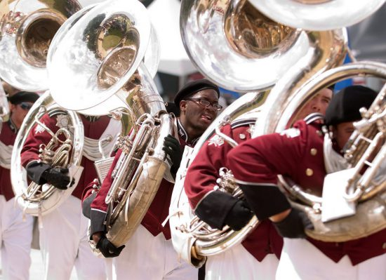 Troy Trojans marching band