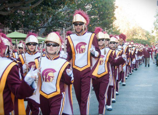 USC Trojans band march