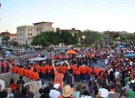 UTEP Miners fans