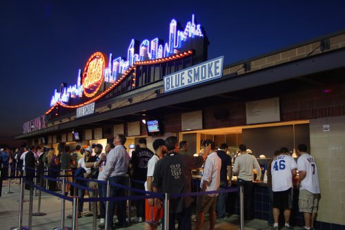 New York Mets Blue Smoke Shake Shack concessions