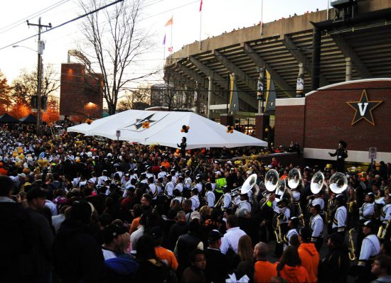 Vanderbilt Commodores football fans
