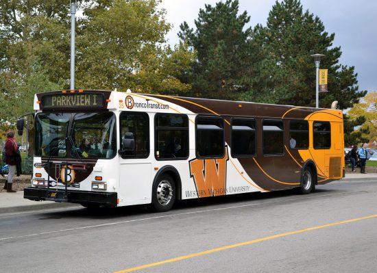 WMU Broncos bus