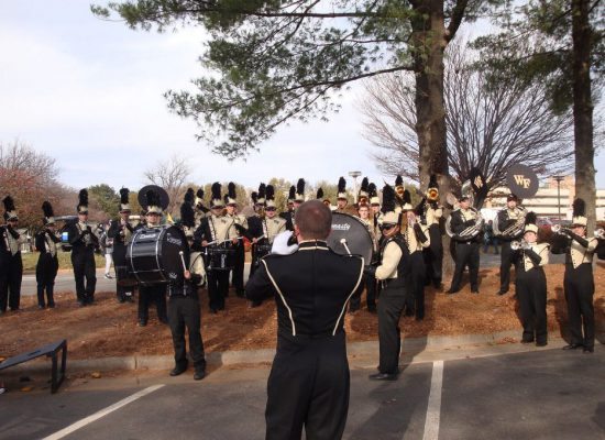 Wake Forest Demon Deacons band