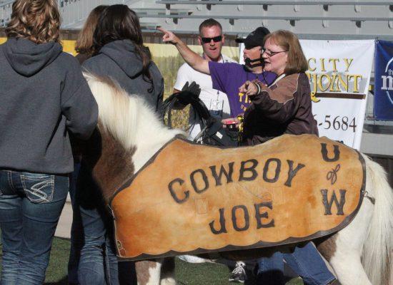 Wyoming Cowboys cowboy joe horse