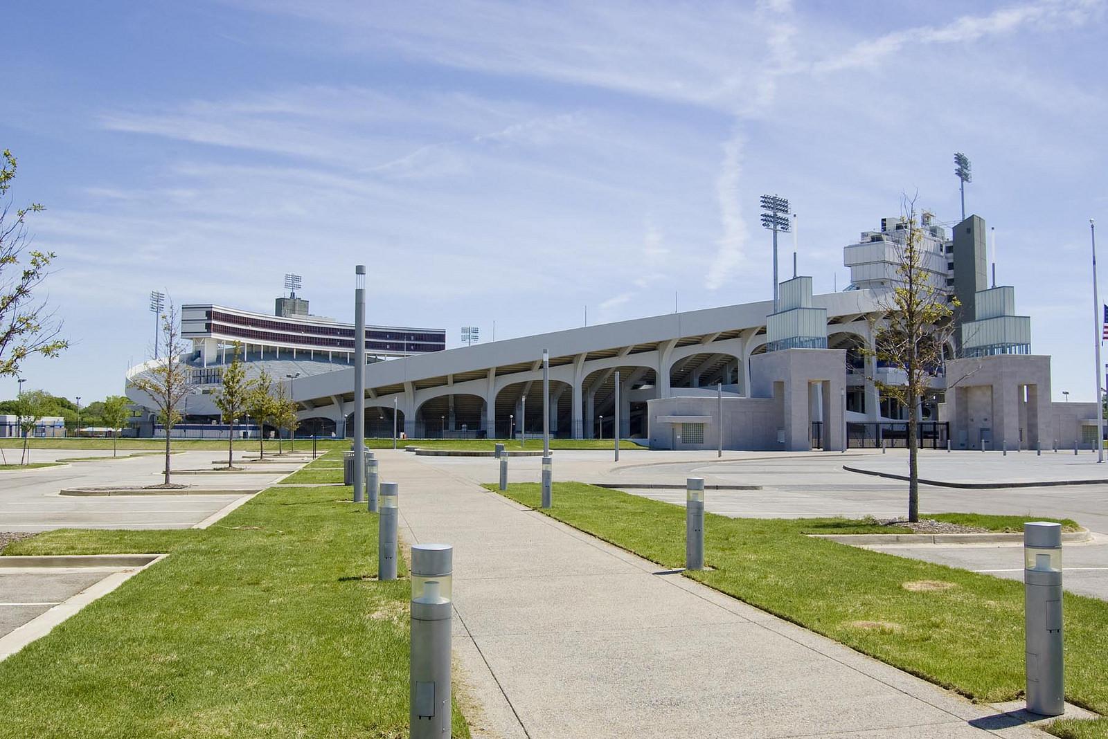 Memphis Tigers Tiger Lane at Liberty Bowl Memorial Stadium