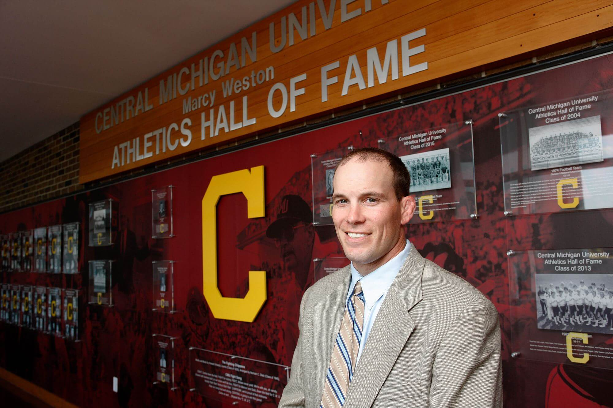 Hall of Champions Jason Mester Central Michigan University
