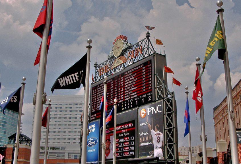 Camden Yards Baltimore Orioles