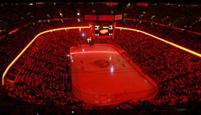 Ottawa Senators red crowd