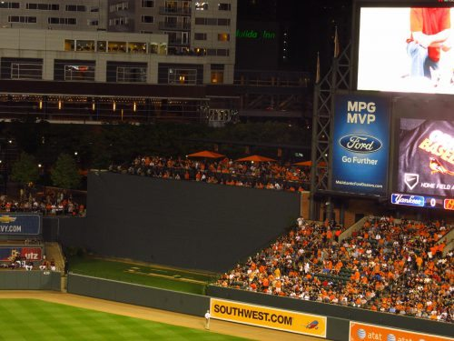 The Roof Deck Camden Yards