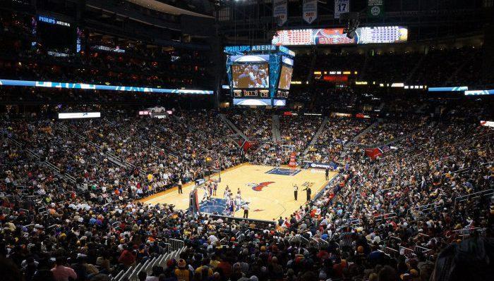 Atlanta Hawks basketball game
