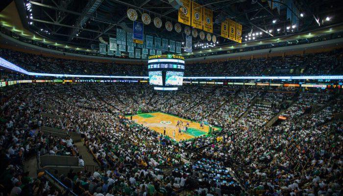 Boston Celtics game basketball TD Garden
