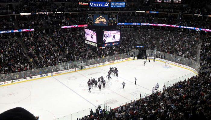 Oilers vs Avalanche at Pepsi Center