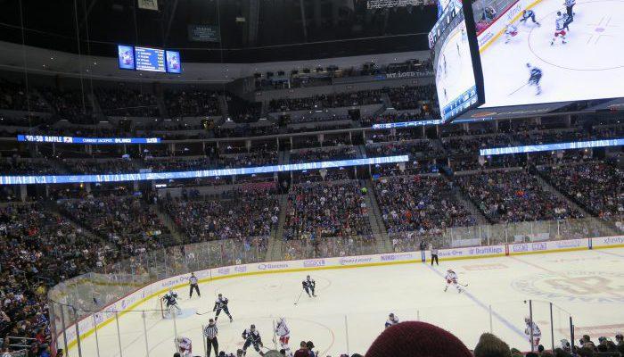 Colorado Avalanche vs NY Rangers at Pepsi Center