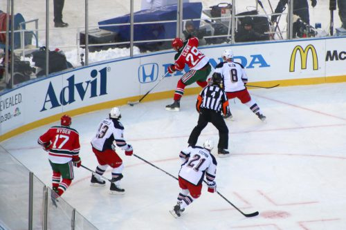 New Jersey Devils vs New York Rangers game