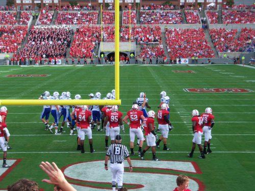 Duke Blue Devils vs NC State Wolfpack football game