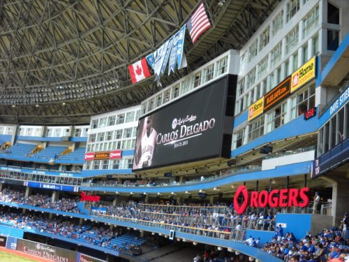 Jays Level of Excellence Rogers Centre