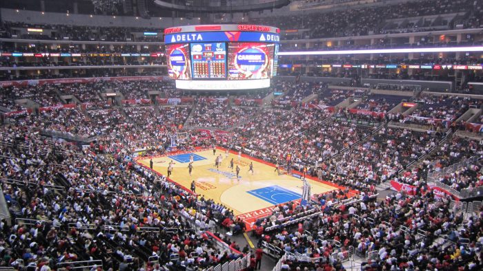 Minnesota Timberwolves vs LA Clippers game Staples Center