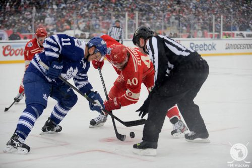 Toronto Maple Leafs vs Detroit Red Wings game