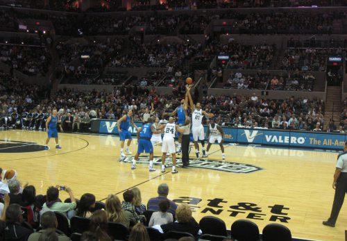Dallas Mavericks vs San Antonio Spurs game