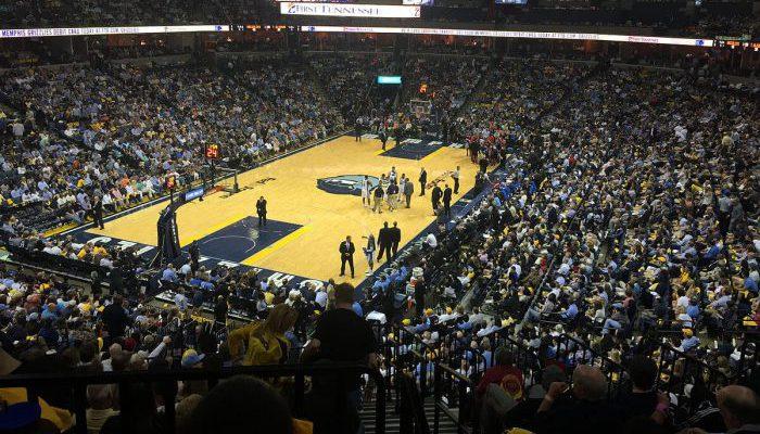 FedExForum Memphis Grizzlies basketball game