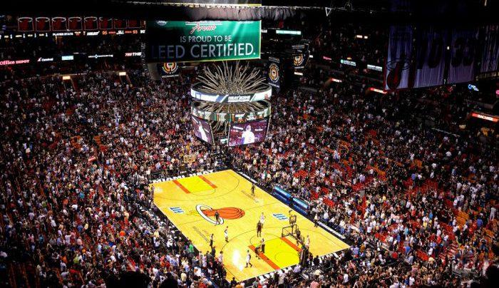 Miami Heat basketball game