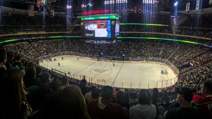 Xcel Energy Center Minnesota Wild game