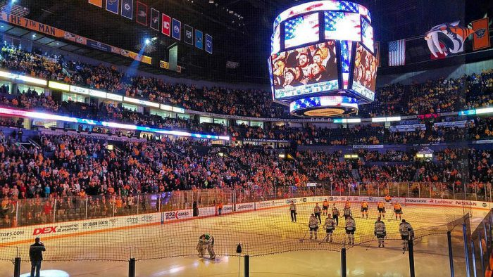 National Anthem at Nashville Predators game