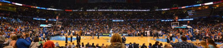 Chesapeake Energy Arena Oklahoma City Thunder