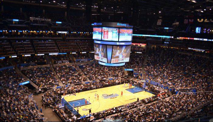 Orlando Magic basketball game vs Atlanta Hawks game