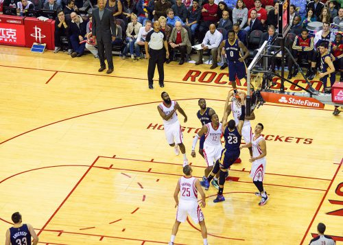 New Orleans Pelicans vs Houston Rockets game