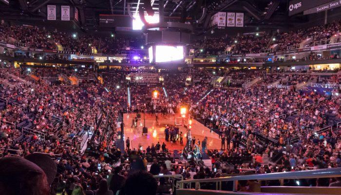 Phoenix Suns game crowd