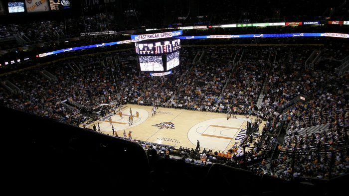 Phoenix Suns basketball game