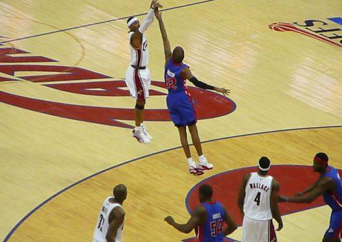 Detroit Pistons vs Cleveland Cavaliers game