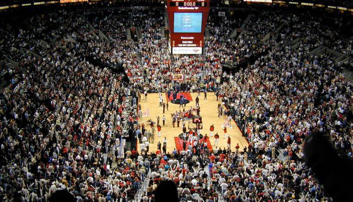 Portland Trail Blazers basketball game