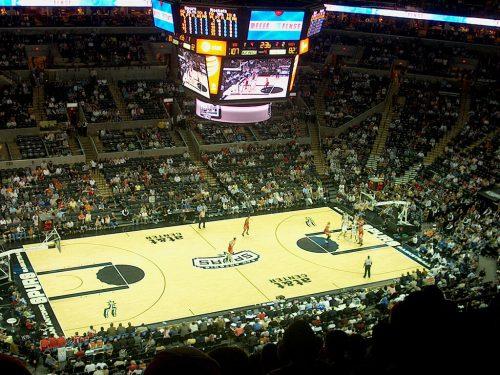 San Antonio Spurs vs Houston Rockets game