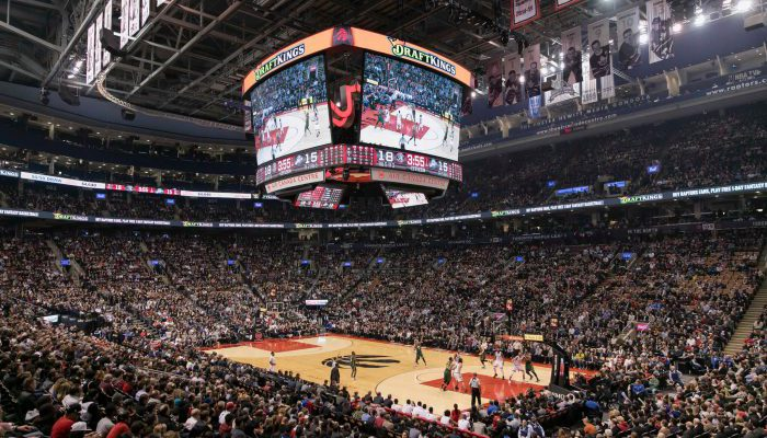 Toronto Raptors vs Utah Jazz game